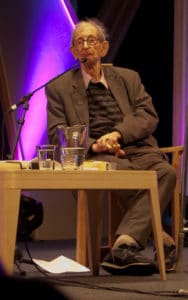 Eric Hobsbawm at Hay-on-Wye, 31 May 2011. Photo: Rob Ward. (CC BY 2.0).
