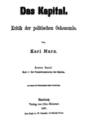 Marx: Kapitalen 1867