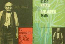 En ældre Christian Christensen på omslaget af sine to erindringsbøger fra 1961 og 1962.Redigeret og udgivet af Halfdan Rassmussen. Især første bind er klassiker i dansk arbejder- og erindringslitteratur.
