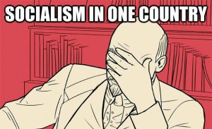 Lenin græmmes over beslutningen.