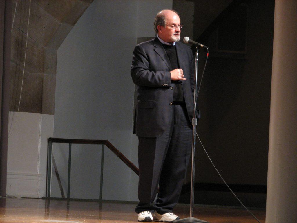 Salman Rushdie, taken on April 29, 2007, by Yaffa Phillips. (CC BY-SA 2.0).
