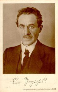 Leo Jogiches, ca. 1910. Photo: Unknown author. Public Domain.