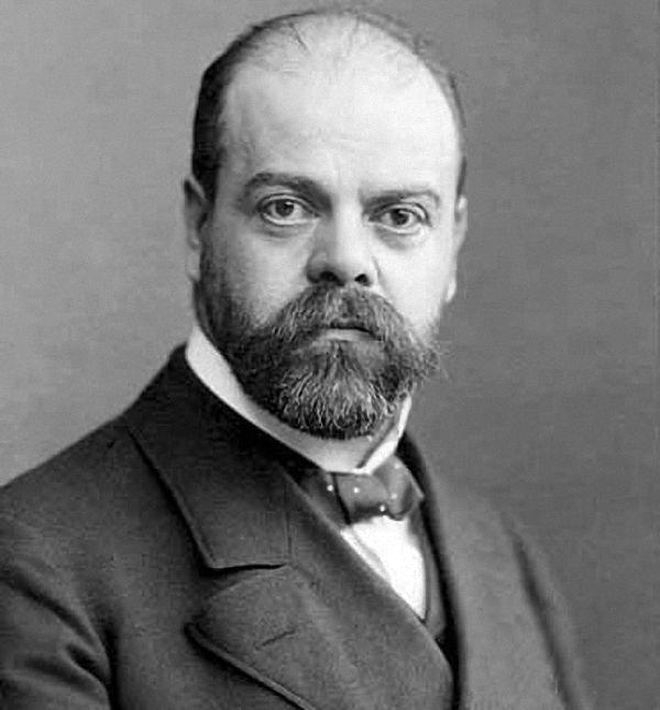 Alexander Parvus, Russian social-democrat. 1906. Author: Unknown photographer. Public Domain