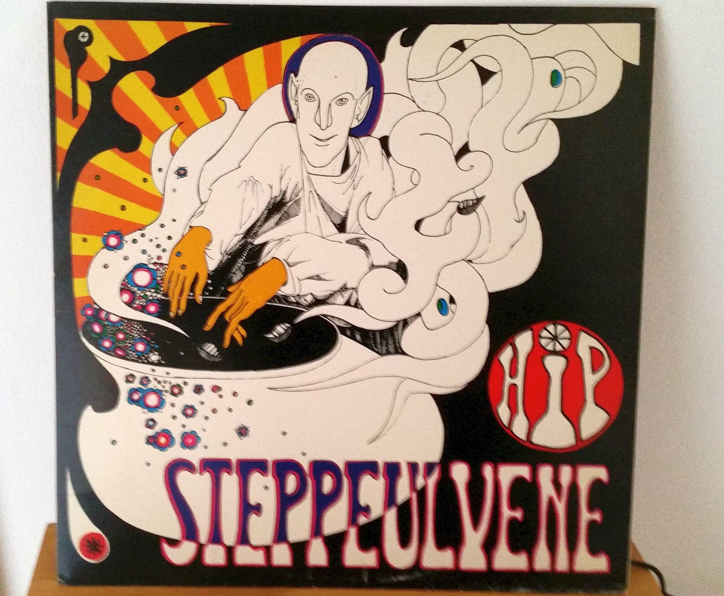 Steppeulvenes plade Hip. Foto: pma. Se nedenfor 1. juni 1967