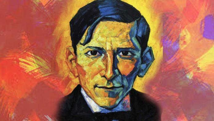 Portrait of José Carlos Mariátegui by Bruno Portuguez Nolasco.