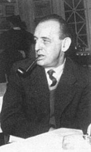 Kai Moltke i midten af 50'erne. (ABA)