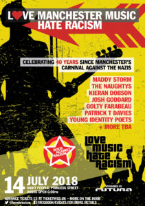 Rock mod racisme - en tradition i britisk musik og antiracisme. Author: Peter Labrow. (CC BY-SA 4.0).