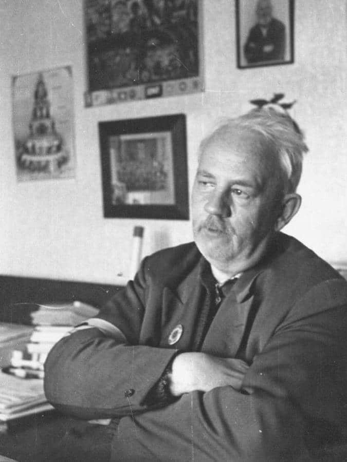 Carl Heinrich Petersen, som en del viborgensere stadig husker ham. Privatfoto.