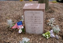 """""""4 more dead"""". The war came home - The nationalgard killed 4 students at Kent State University maj 4, 1970. The memorial at the site where the Kent State shootings occurred on May 4, 1970. Photo: Kaya. (CC BY-NC-ND 2.0). Source: flickr.com"""