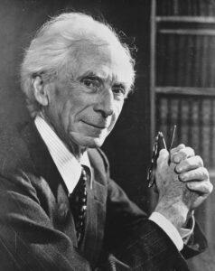 Bertrand Russell, November 28, 1957. Photo: Unknown / Anefo. Collection / Archive: Anefo photo collection. Nationaal Archief, Nederland. Public Domain.