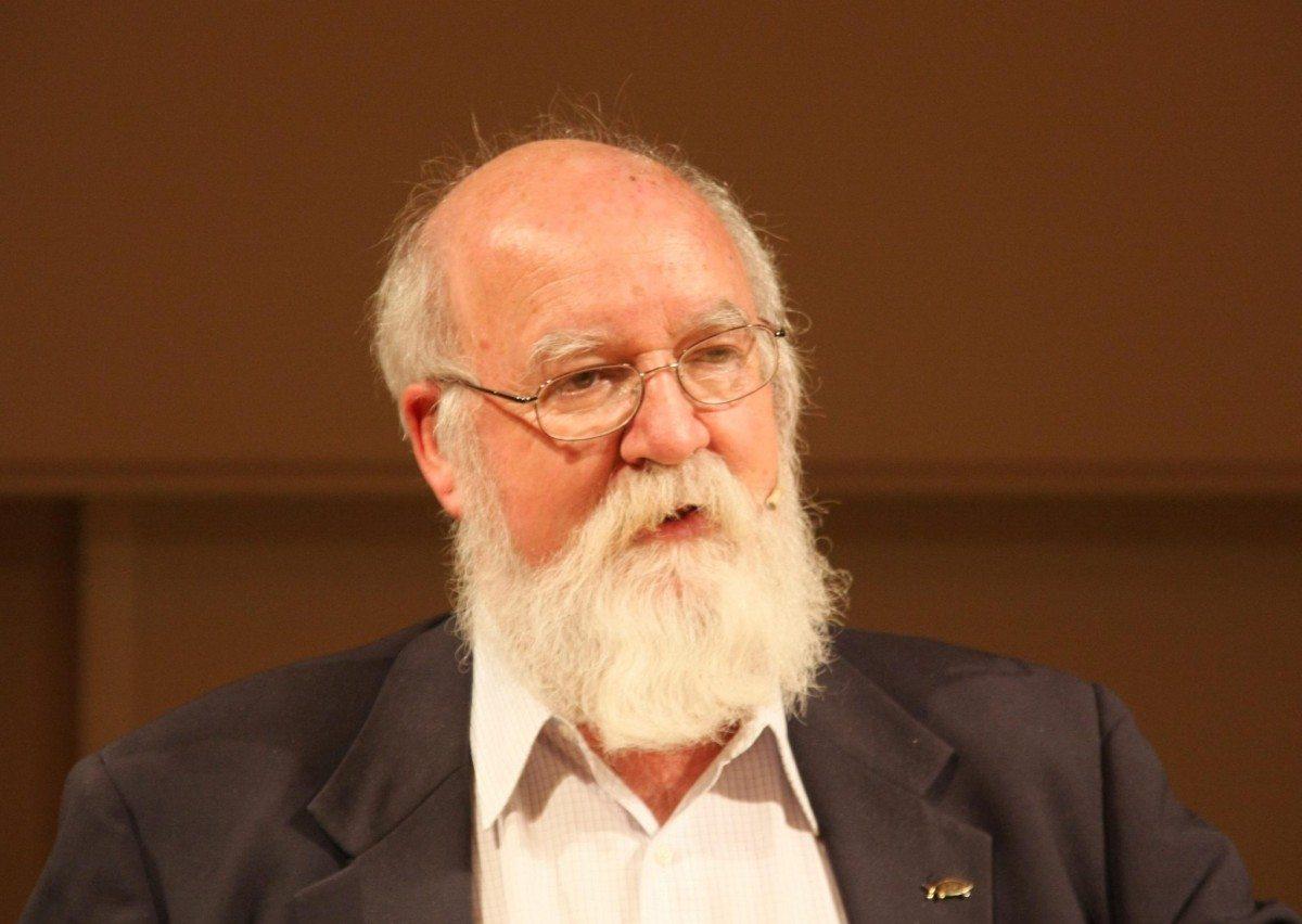 Daniel Dennett at the 17. Göttinger Literaturherbst, October 19th, 2008, in Göttingen, Germany. 19. October 2008. Photo: Mathias Schindler. (CC BY-SA 3.0).