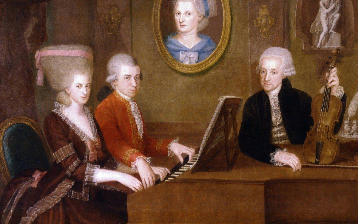 Family portrait: Maria Anna (