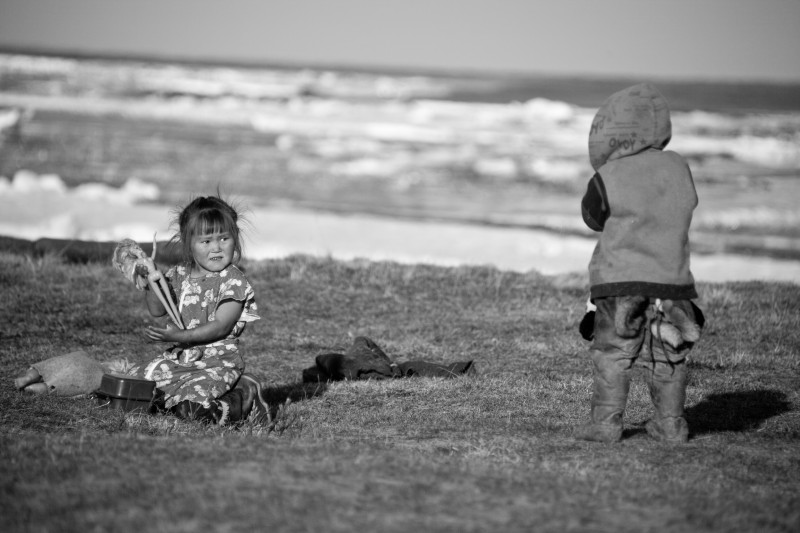 """Barbie adventures in the tundra"". Photo: Taken 28 November 2012 by Igor V. Korneluk, YNAO, Salehard. (CC BY 3.0)."