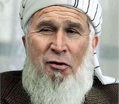 Photoshoppet version af George W. Bush