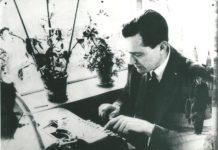 Elias Lunn Bredsdorff (1912-2002), Danish literary historian, educator, and resistance member. Date: 1940s. Photo: Unknown. Public Domain.