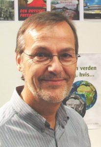 Ole Sohn fotograferet ved Bogforum november 2006