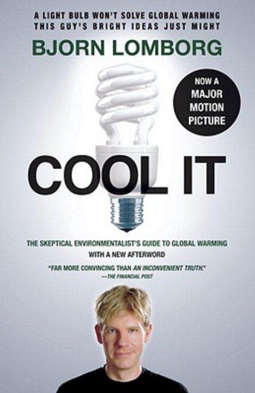 Forside på Bjørn Lomborgs bog: Cool It