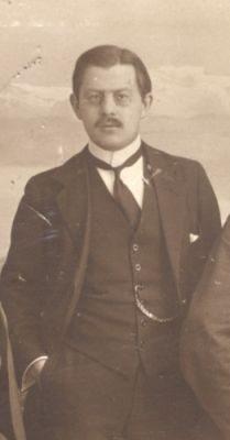 Ernst Christiansen (1915). Beskåret Kilde: Arbejdermuseet