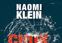 """Forsiden af Naomi Klein's """"Chokdoktrinen"""""""