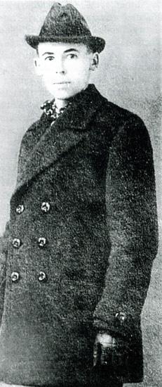 Bruno Topff (1886-1920), November 1918. Photo: Ukendt. Public Domain.