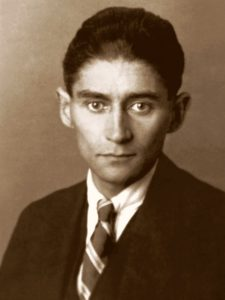 Czech writer Franz Kafka, 1923. Photo: anonymous (the author never disclosed his identity); as much is indicated by omission of reference in 1958's Archiv Frans Wagenbach. Public Domain.
