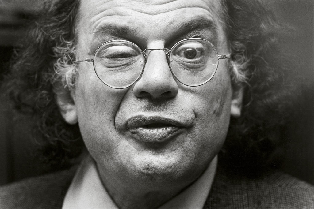 Allen Ginsberg, 1979. Photo: Michiel Hendryckx. (CC BY-SA 3.0).