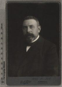 Fagforeningsmand og borgmester i København, Jens Jensen. Foto: Frederik Riise (1863-1933) fotograf, generalkommissær. Public Domain.