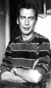 Forfatteren Hans-Jørgen Nielsen i december 1980. Foto: ASAV. (CC BY-SA 4.0).