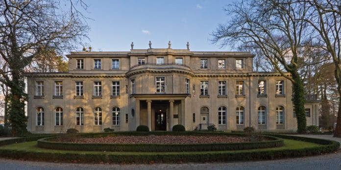 Villa Marlier in Wannsee, Berlin - Where in january 1942 Wannsee Conference was held, by the Naziparty in order to find the final solution of the Jewish question. Photo taken on 28 June 2013 by Adam Jones, Ph.D. (CC BY-SA 3.0).