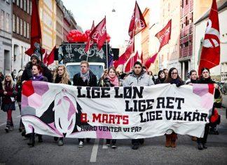 100 års demonstrationen: København 8. marts 2010. Foto: Gabriela Manzur/Monsun