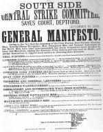 South central Strike Committee: Generel Manifesto.