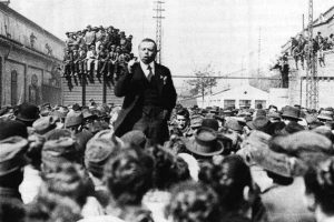 Béla Kun, leader of the 1919 Hungarian Revolution. Photo: Hungarian photographer. Public domain.