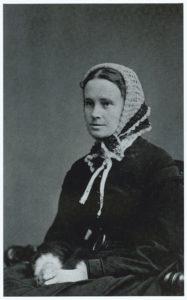 Mathilde Fibiger. Foto: Julie Laurberg (1856-1925), fotograf. (CC BY-NC-ND 4.0).