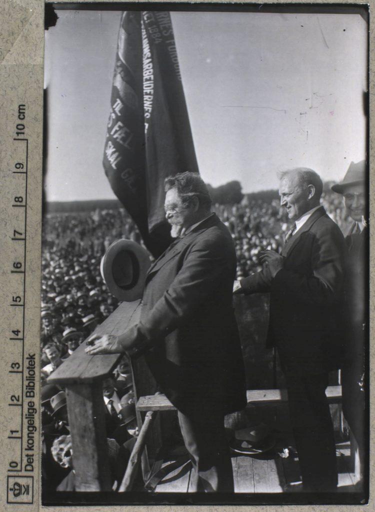 Fagforeningsformand M. C. Lyngsie. Foto: Holger Damgaard (24.7.1870-15.1.1945). (CC BY-NC-ND 4.0).