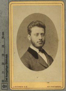 Gerson Trier. Foto: Petersen, J. & Co./ Jens Petersen (1829-1905), fotograf. Public Domain.