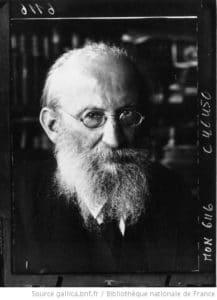 Eduard Bernstein, socialist ideologue, in 1932. Photo: Robert Sennecke (1885–1940)/Bibliothèque nationale de France. Public Domain.