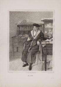 Georg Wilhelm Friedrich Hegel. Date: Unknown. Litografi af Friedrich Julius Ludwig Sebbers (1804–1839). Public Domain.