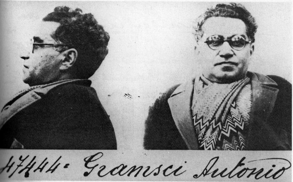 Gramsci in 1933. Photo: Sconosciuto. Public Domain.