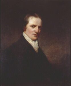 William Godwin. Oil on canvas painted in 1798 by John Westbrooke Chandler (1764–1804), painter and poet. Collection: Tate National Gallery. Public Domain.