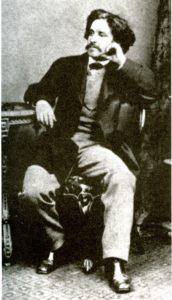 Paul Lafargue 1869 or 1871. Photo: Unknown. Public Domain.
