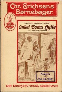 Dansk udgave af Onkel Toms Hytte fra 1923.