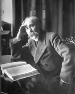 The marxist theoretican the russian Georgij Plekhanov in 1917-1918. Photo: Karl Bulla (1855–1929), photographer. Public Domain.