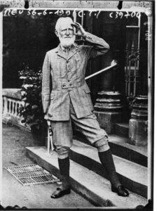 Portrait of George Bernard Shaw, june 1936. Photo: [photographie de presse] / Agence Meurisse. No Copyright - Other Known Legal Restrictions.