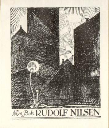 Rudolf Nielsens exlibris