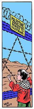 Satiretegning af Latuff, 2007