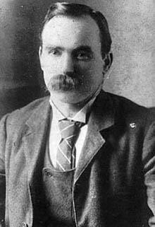 James Conolly ca. 1900. Photo: Ukendt. Public Domain.