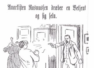 Citat: Syndikalisten Christian Christensen om Sophus Rasmussen. Kilde: Sorte Fane