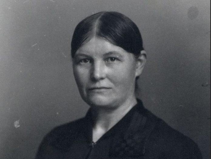 Marie Nielsen. Arkivfoto fra Arbejdermuseet. Se nedenfor 23. december