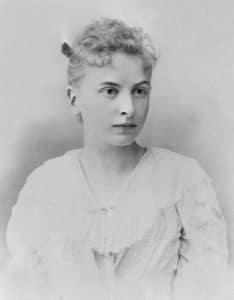 Inessa Armand, circa 1895. Photo: Unknown. Public domain.