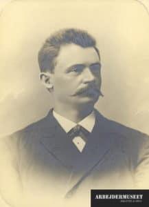 Sophus Rasmussen (1880-1907). Foto: Ukendt. Public Domain.